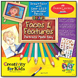 Do Art – Faces & Features: Portraits Made Easy by CREATIVITY FOR KIDS