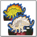 Inside/Outside Puzzle - Stegosaurus by THE STRAIGHT EDGE INC.