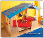 Cozy Cabin Twin Bed and Play Area by HABA USA/HABERMAASS CORP.