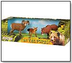 Wild Safari In the Forest Set by SAFARI LTD.®