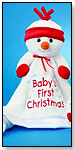 """Baby's First Christmas"" Snowman Lil' Snuggler™ by DOUGLAS CUDDLE TOYS"
