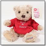 Hugs and Kisses Teddy Bear by HERRINGTON TEDDY BEAR COMPANY