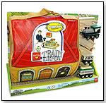 ZipBin® Softie™ Train Depot Playset™ Play, Zip, Go! by NEAT-OH! INTERNATIONAL LLC
