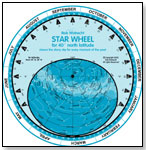 Build-It-Yourself Star Wheel by ROB WALRECHT PLANISPHERES