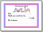 Personalized Thank You Notes by GOOD BUDDY NOTES