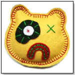 Yellow Bear Rattle by SCRAPPERS INC.