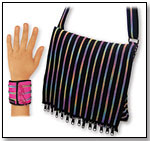 Rainbow Zipper Messenger Bag by FASHION ANGELS