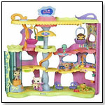 Littlest Pet Shop Display & Play Round n' Round Pet Town by HASBRO INC.