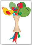 Sassy Earth Brights' Cherry Tree Rattle by SASSY