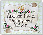 Happily Ever After Canvas by SHERRI BLUM DESIGNS