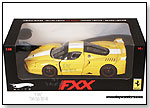 Mattel Inc. - Hot Wheels Elite - Ferrari FXX (1:18, Yellow) by TOY WONDERS INC.