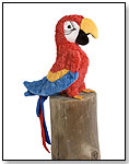 Gabby Red Parrot by DOUGLAS CUDDLE TOYS