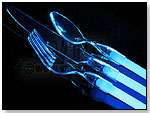 WeGlow International – WeGlow Ware The Glowing Flatware - Clear Cutlery by VIRGINIA TOY AND NOVELTY CO.