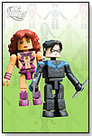 DC MiniMates Wave 7 - Starfire & Nightwing by DIAMOND COMIC DISTRIBUTORS