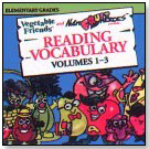 Vegetable Friends and Nutra Fruit Heroes present … Reading Vocabulary Volumes 1-3 by WINDMILL WORKS
