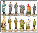 World War II Chess Set by FAME (USA) PRODUCTS INC.