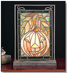 FrightFest Mini Stained Glass Window by MEYDA TIFFANY