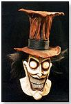 Red Jack Full-Head Latex Mask by LUBATTI DESIGNS UNLIMITED