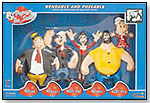 Classic Popeye Bendable Family Set by FUNWORKS