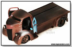 Jada Toys - Ford COE Flatbed 1947 by TOY WONDERS INC.