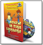 """Debate in Sign Language"" from the LifeStories for Kids™ Series by SELMEDIA INC."