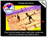 Anywhere Anytime® Paddle Ball Game by CELL TAG USA