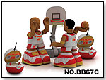 R/C Basketball Game (2 Players) by ALLIANCE TOYS GROUP