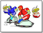 R/C Hockey Game (2 Players) by ALLIANCE TOYS GROUP