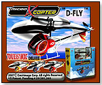 Ultimass - RC Infrared Micro X Copter D-FLY Helicopter by EMIRIMAGE CORP.