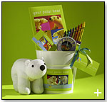 Polar Bear Pail by PERENNIAL TOYS
