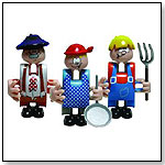 Clics Characters - Funny Farmers by TOYLINKS INC.