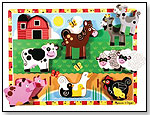 Farm Wooden Chunky Puzzle by MELISSA & DOUG
