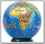 Puzzleball® - Junior World Map by RAVENSBURGER