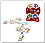 FUNDOMINO, Wild Action Dominoes! by BLUE ORANGE GAMES
