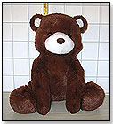 "10"" Super Soft Plush Bear by D & F CORP."
