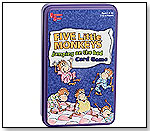 University Games - 5 Little Monkeys Jumping on the Bed Card Game by UNIVERSITY GAMES