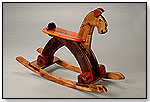 Wooden Rocking Horse – Woody by ZEIGER ENTERPRISES INC.
