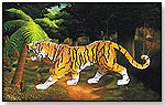 Illuminated Model Tiger by PUZZLED, INC.