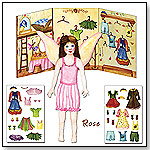 Paper Doll Fairies - Rose by ENCHANTMINTS