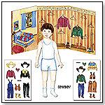 Paper Doll Cowpokes – Cowboy by ENCHANTMINTS