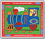 Wood Puzzle Train by SCHYLLING