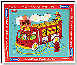 Wood Puzzle Fire Engine by SCHYLLING
