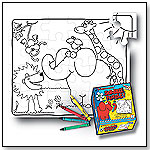 Scribble Puzzle ABC's – Zoo Friends by SCRIBBLE MATS