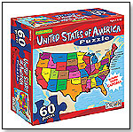 USA Puzzle by PATCH PRODUCTS INC.