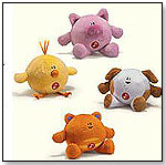 Bright Beginnings Giggle Balls - Pig by RUSS BERRIE