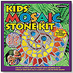 Kid's Mosaic Stepping Stone Kit by MILESTONES PRODUCTS COMPANY