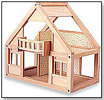 My 1st Wooden Doll House by PLANTOYS