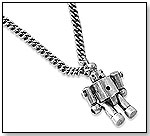 MAJOR Robot Necklace by HIGH INTENCITY CORP.