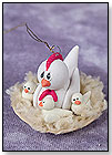 Chicken and Chicks in Nest Ornaments by CHERYL