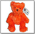 Orange Plush Bear by ELCO TOY